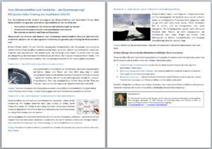 Wissen: Vom Wissenschaftler zum Verkäufer
